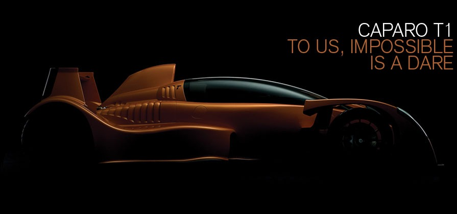 Caparo T1. To us, impossible is a dare